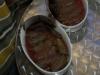 Dolmathes : Weinblätter mit Füllung.