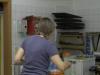 Unsere Küchenbeauftragte in ihrem lieblings Raum.