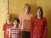 Wo sind Arme zum Drücken fragten Nina, Chantall, Henriette und Nathalie.