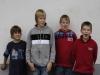 Ohne Tzaziki lief nichts bei Lennart, Maxe, Fynn und Patrick.